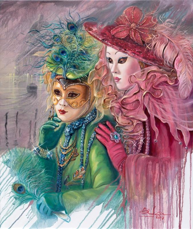 Painting: Venetian Fairies