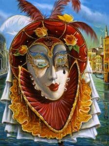 Venetian-Lady