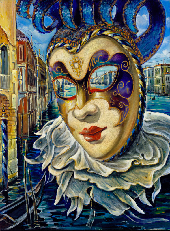 Painting: Venetian Mystery