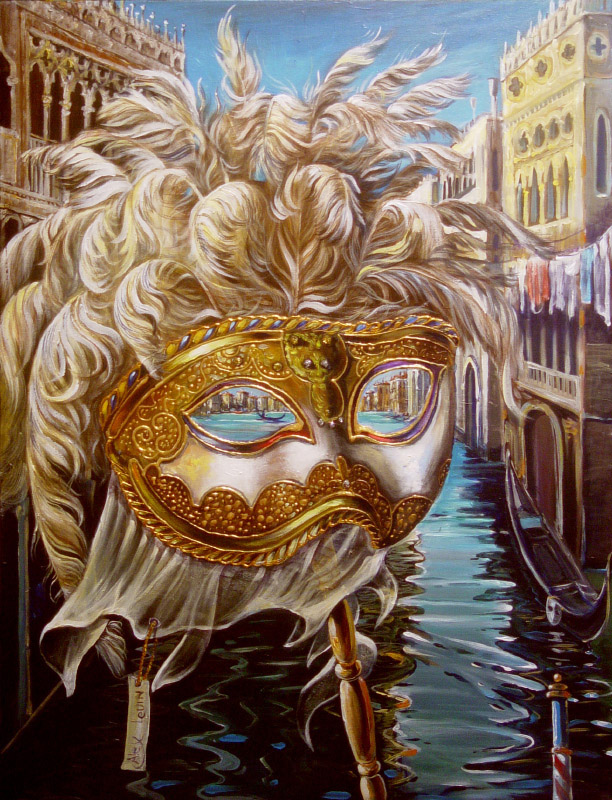 Original Oil Painting: Venetian Zephyr