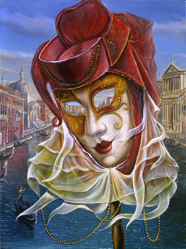 Original Oil Painting: Venetian Breeze