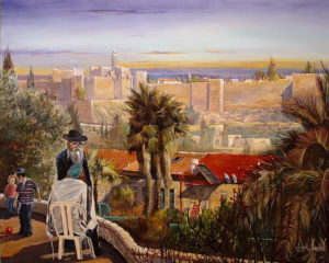 Alex Levin - View at the David's Tower