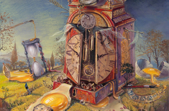 "Original Oil Painting: ""Vita Brevis Ars Longa"" – Art is long Life is short"