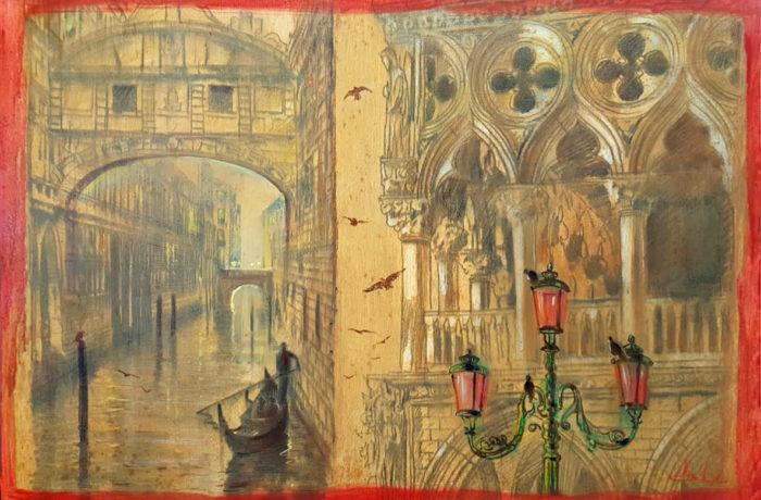 Original Oil Painting: Vivaldi – Concerti della Natura