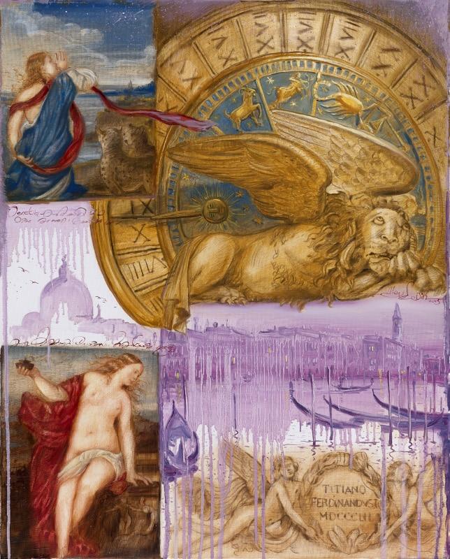 Original Oil Painting: Vivaldi – Four Seasons