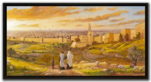 jerusalem view wall decor