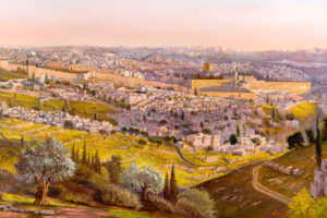 messiah painting jerusalem