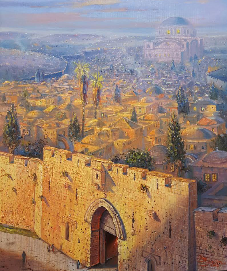 Zion Gate in Jerusalem