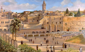 Morning by the Kotel by Alex Levin
