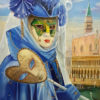 Painting: Hidden truth beneath the mask