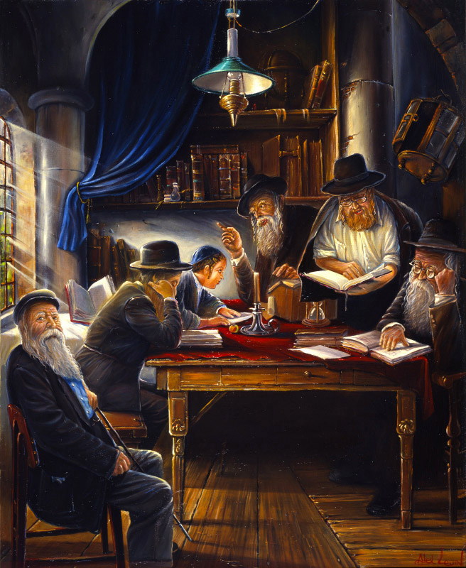 Image result for study of Torah painting